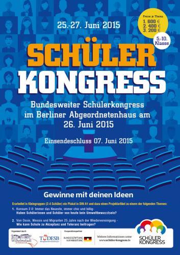 Flyer 2015 Schülerkongress-2015